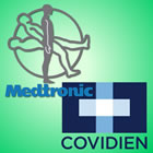 Medtronic and Covidien logos