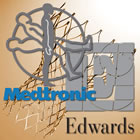 Edwards and Medtronic logos