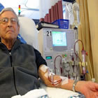 patient on dialysis