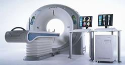 Aquilion 64-slice CT scanner