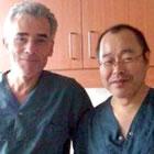 Drs. Ferdinand Kiemeneij and Shigeru Saito