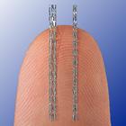 Svelte SLENDER stent (R) vs. standard DES (L)