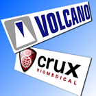 Volcano and Crux logos