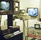 closed-circuit TV control room 1978