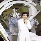 Andras Gruentzig in cath lab at Emory